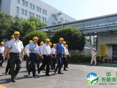 生态环境部黄润秋部长考察湘江涂料集团星沙工厂