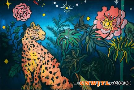 艺术赞美生活,三棵树 Lounge惊艳西岸博览会 涂料在线,coatingol.com